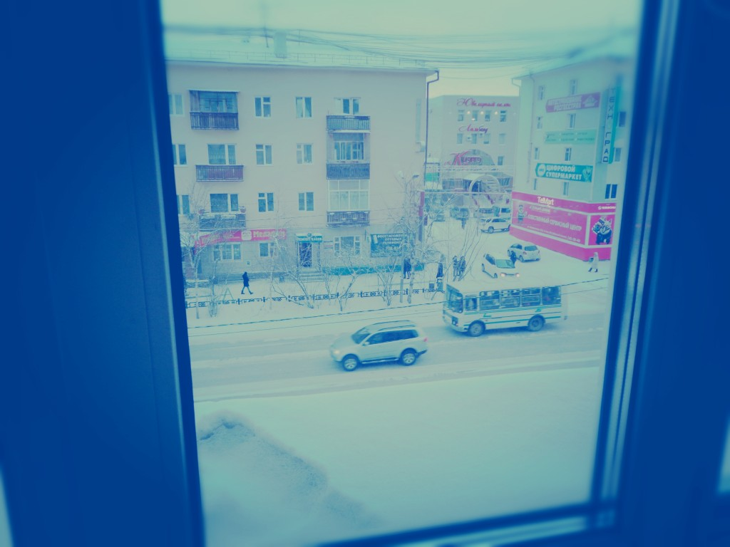 """гостиница """"лена"""". вид из окна"""