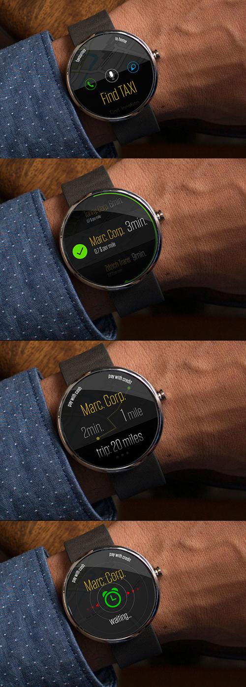 часы для такси