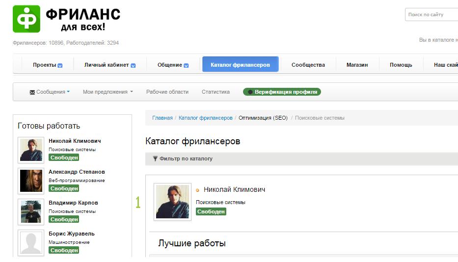 , Лучший интернет-маркетолог по версии AllFreelancers.su